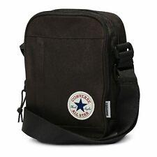 Converse NEW Men's Core Poly Cross Body Bag - Black BNWT