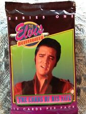 """NOS 1992 THE RIVER GROUP """"THE ELVIS COLLECTION"""" CARDS OF HIS LIFE SERIES ONE #5"""