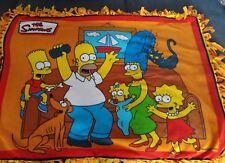 Simpsons Throw Blanket 48x37 handmade
