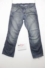 wrangler sharkey accorciato (Cod.H937) Tg.48 W34 L36 boyfriend jeans usato