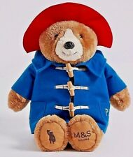 M&S Marks & Spencer London Paddington Bear Teddy Plush Toy Limited Edition - NEW