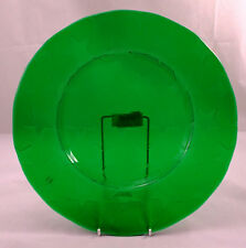 Villeroy & and Boch STELLINA GREEN STAR glass buffet plate UNUSED