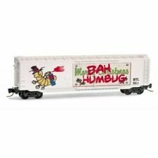 "Micro Trains Z-Scale ""Bah Humbug"" 2011 Christmas Holiday Train Car 50700550"