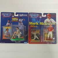 Lot Of 2 Mark McGwire Starting Lineup MLB Baseball Home Run Record Breaker 98 99