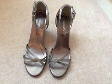 Barrett's wedge heel sandals in bronze size 6