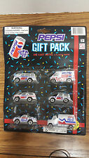 6 MINT CAR PEPSI-COLA 1994 DIECAST SODA TRUCK GIFT PACK DIECAST & PLASTIC PARTS