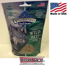 Natural Healthy Blue Buffalo Wilderness BITS Dog Treats Grain Free Training Duck