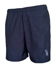 Mens SMALL KOOKABURRA Players Woven Polyester Hockey shorts Adult BLACK wo