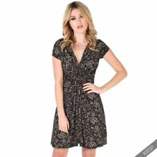 Floral A-Line Dresses for Women with Belt