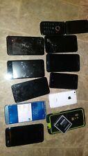 Lot of CELL PHONES motorola apple lg zte samsung coolpad cricket verizon flip