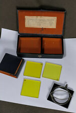 Agfa Vintage GELB FILTER SET 3 with Clip-on Filter Holder and full set filters