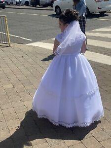 holy communion dress / Flower Girl  .. One Size