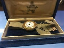 Vintage / Antique Watch Ladies Gold Filled Enameled Face Original Box