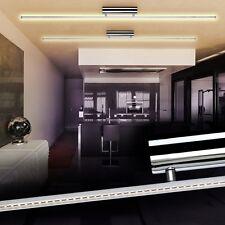 Plafoniera per Studio LED Design Lampada da Soffitto Cromo Luce Soggiorno 129463