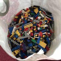 6 KG Mixed Lego Including Wheels; Bases ; Foliage; Technics Etc..