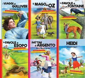 Lotto 6 libri NUOVI - Pacchetto BIBLIOTECA DIDATTICA - raccolta stock libri