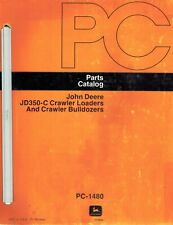 John Deere 350 C Crawler Loader Bulldozer Parts Manual Jd New