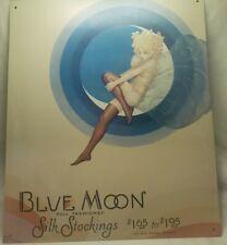 Blue Moon Silk Stockings Sign, 1991 U.S. Hosiery Company