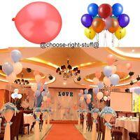 10 x 100 Helio Látex PERLA Alta Calidad Fiesta Cumpleaños globos de Boda Globos