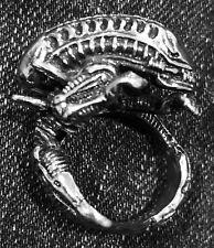 Alien Xenomorph Ring Men's Steel Size 8