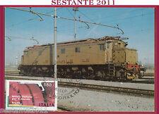 ITALIA MAXIMUM MAXI CARD LAVORO ITALIANO NEL MONDO LA BREDA FS 1986 MILANO B662