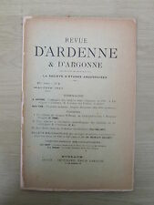 Revue d'Ardenne & d'Argonne 05-06/1910 N°4 Coblentz, Beauchot, Wilbault, Rouceux
