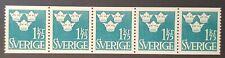 F305 x 5 - Sweden Sverige - Three Crown - MNH