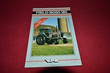 White Field Boss 185 Tractor Dealer's Brochure DCPA
