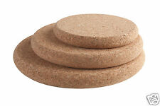 T&G Chunky Round Cork Hot Pot Stand Trivet Small Medium Large
