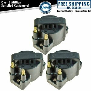 Ignition Coil Pack Kit Set of 3 For Chevrolet Buick Cadillac Pontiac Oldsmobile