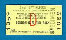 Ticket ~ BR(W) Day Return - Student International Services: Hastings to London