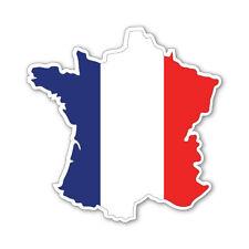 FRANCE carte Silhouette Flag Vinyle Voiture Van Ipad Laptop Sticker