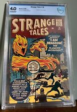 CBCS 4.0 STRANGE TALES #76 (MARVEL,1960) Prototype issue (Human Torch)