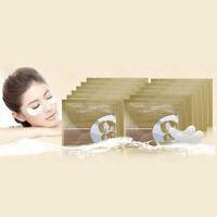 10 Pairs Anti-Wrinkle Dark Circle Gel Collagen Under Eye Patches Pad Mask Bag li