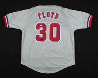 Cliff Floyd Montreal Expos Signed Baseball Jersey ~JSA COA Authentic Autograph ~