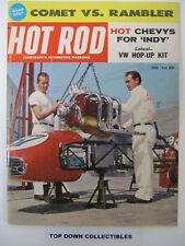 Hot Rod Magazine   June 1960      Comet VS. Rambler Road Test