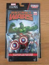 "MARVEL LEGENDS SECRET WARS 3.75"" VANCE ASTRO & CAPTAIN AMERICA"