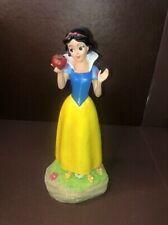 "Snow White & Seven Dwarfs:  Princess SNOW WHITE Garden Statue / Figurine 12""Tall"