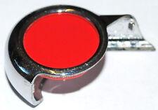 Citroen DS3 Chrome Colour Disc Key Remote Cover RED Genuine 6490FC