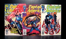 COMICS: Marvel: Captain America #20-22 (vol 3, 1999), Cap's shield returns -RARE