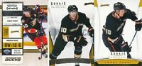 Corey Perry Lot of 3 different Anaheim Ducks Hockey Cards