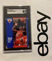 Michael Jordan SGC 6 Fleer 1991 #29 Card Collector Chicago Bulls FIGHT INFLATION