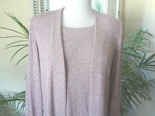 Alex Evenings Mother-of-the Bride Formal GownTwo-Piece Mauve Dress Grown 10