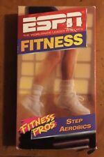 Fitness Pros - Step Aerobics (VHS, 1997) Espn