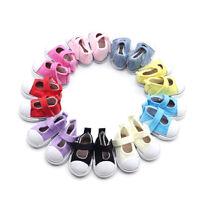5 cm Puppe Schuhe Leinwand Mini Spielzeug Schuhe 1/6  Für  Puppe  JM BCDE
