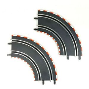 Carrera Go 1/43 Slot Car Curve Track G Section 90 Degrees 61603 - Lot of 2
