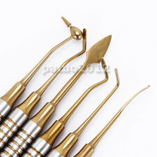 Dental Composite Filling Instrument Gold Titanium Coated Restorative Kit