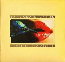 BARBARA DICKSON sweet oasis EPC 32011 A1/B2 early press uk epic 1978 LP PS EX/EX