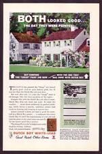 1920s Original Vintage Dutch Boy Lead Paint Art Print Ad