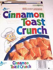 1991 Cinnamon Toast Crunch Cereal Box cc028